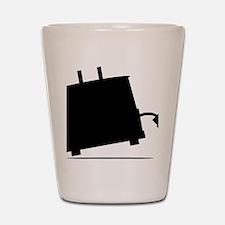 ToasterSilhouette Shot Glass