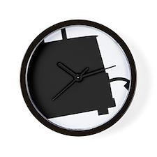 ToasterSilhouette Wall Clock