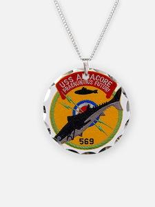 albacore patch transparent Necklace
