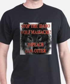 Stop the wolf massacre T-Shirt