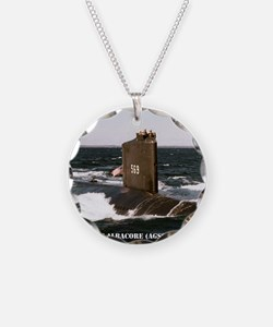 albacore small poster Necklace