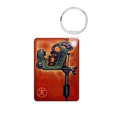 Red Machine Keychains