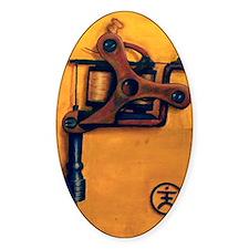 Yellow Machine Decal