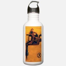 Yellow Machine Water Bottle