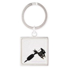 Addicted to the Square Keychain