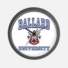 BALLARD University Wall Clock