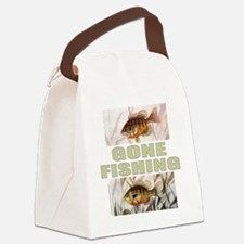 GoneFishing Canvas Lunch Bag