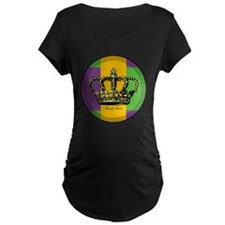 MardiGrasFlagLRtr T-Shirt