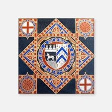 "LeighChurchStaffordshire_JC Square Sticker 3"" x 3"""