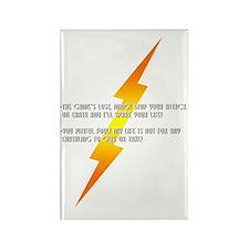 flash gordon Rectangle Magnet