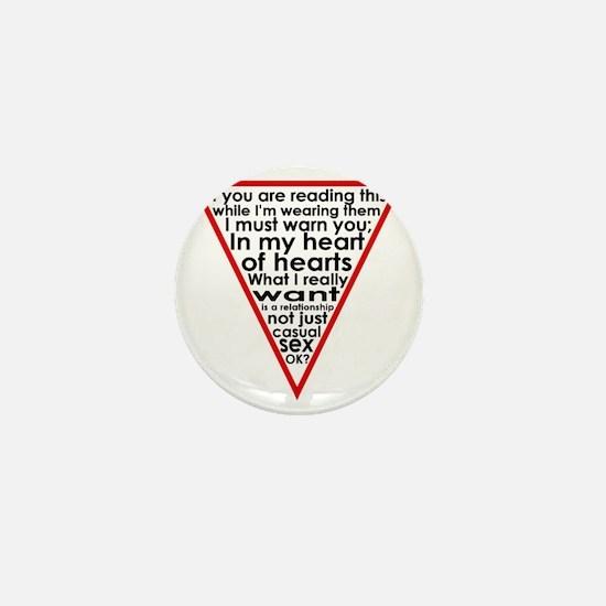 Warning Triangle 1 Mini Button