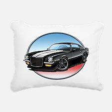 Black_72_Camaro Rectangular Canvas Pillow