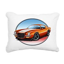 Orange_72_Camaro Rectangular Canvas Pillow