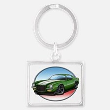 Green_72_Camaro Landscape Keychain