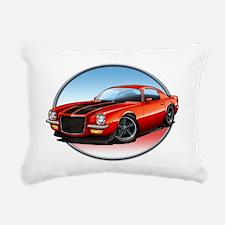 Red_72_Camaro Rectangular Canvas Pillow