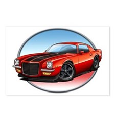 Red_72_Camaro Postcards (Package of 8)