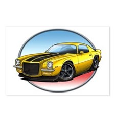 Yellow_72_Camaro Postcards (Package of 8)