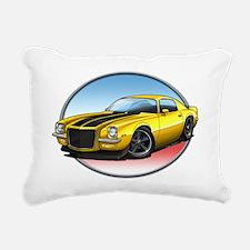 Yellow_72_Camaro Rectangular Canvas Pillow
