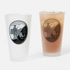 state-quarter-massachusetts Drinking Glass