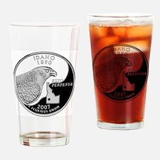 state-quarter-idaho Drinking Glass