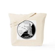 state-quarter-hawaii Tote Bag