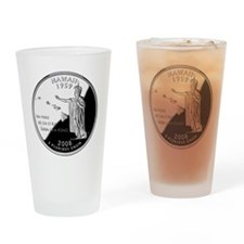 state-quarter-hawaii Drinking Glass