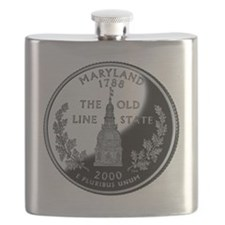 state-quarter-maryland Flask