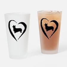 Pembroke Heart Drinking Glass