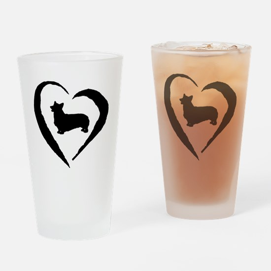 Pembroke Heart Drinking Glass