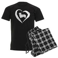 Pembroke Heart Invert Pajamas