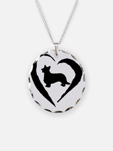 Cardigan Heart Necklace