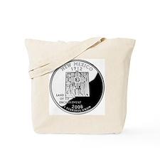 coin-quarter-new-mexico Tote Bag