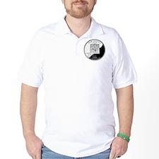 coin-quarter-new-mexico T-Shirt