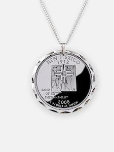 coin-quarter-new-mexico Necklace