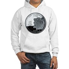 coin-quarter-new-hampshire Hoodie Sweatshirt
