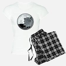 coin-quarter-new-hampshire pajamas