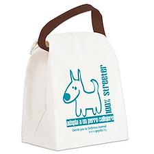 100 streeter azul Canvas Lunch Bag