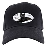 Baseball cat Black Hat