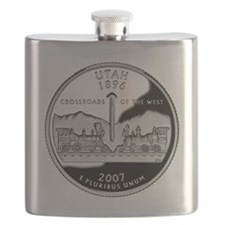 coin-quarter-utah Flask