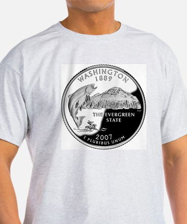 coin-quarter-washington T-Shirt