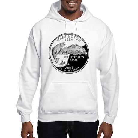 coin-quarter-washington Hooded Sweatshirt