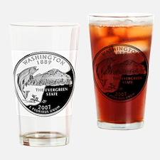 coin-quarter-washington Drinking Glass