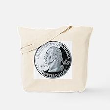 quarter-heads-george-02 Tote Bag