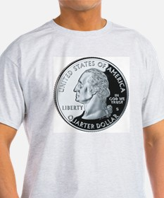 quarter-heads-george-02 T-Shirt