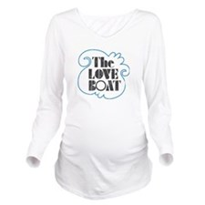 The Love Boat VINTAGE Long Sleeve Maternity T-Shir