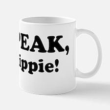 speak hippyBMP Mug