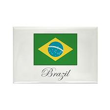 Brazil - Flag Rectangle Magnet
