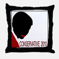 Conservative Woman 1 opqbkg Throw Pillow