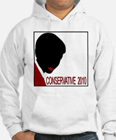 Conservative Woman 1 opqbkg Hoodie