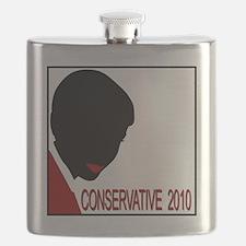 Conservative Woman 1 opqbkg Flask